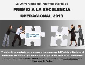 Premio EO - UP 2013